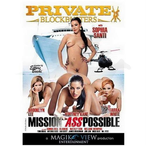 DVD XXX Mission Ass Possible